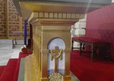 Bendición mesa de altar 2019