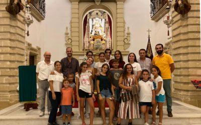 Actividad del Grupo joven e infantil con la Mayordomía y Priostía