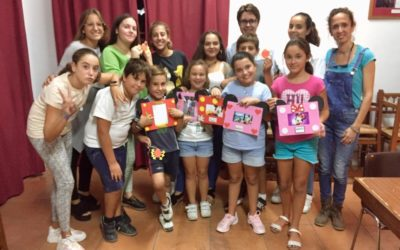 Fotografías de las actividades del Grupo joven e infantil