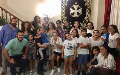 Visita del Grupo Joven e Infantil a la Unión de Hermandades de Jerez