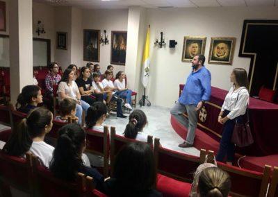 Visita a Union de Hermandades del Grupo Joven