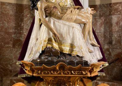 Nuestra Señora de las Angustias para Adviento 1