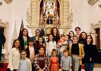 Participacion Grupo Joven e Infantil en primera misa del mes noviembre 2019 (1)