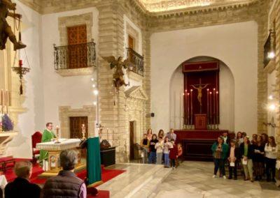 Participacion Grupo Joven e Infantil en primera misa del mes noviembre 2019 (2)