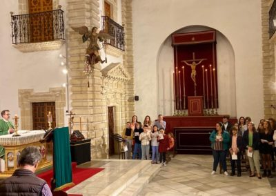 Participacion Grupo Joven e Infantil en primera misa del mes noviembre 2019 (3)