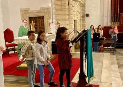 Participacion Grupo Joven e Infantil en primera misa del mes noviembre 2019 (6)