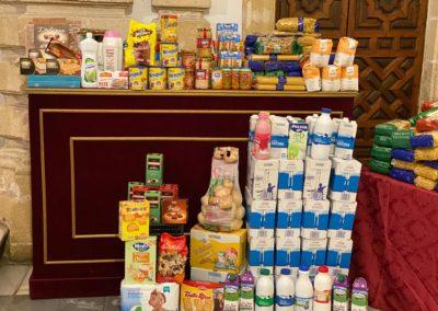 Recogida de alimentos de la Bolsa de Caridad en Mercadona de Pío XII 6