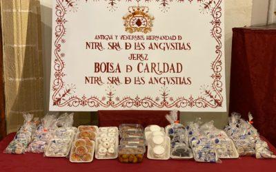 Colaboración en la venta de dulces navideños de las Franciscanas Descalzas de la calle Barja