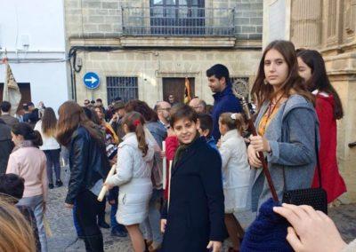 Asistencia del Grupo Joven e Infantil al II Encuentro de Jóvenes de la Hermandad del Carmen (2)