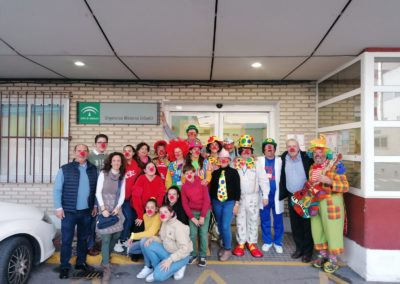 Fotografías de la visita al Hospital Materno Infantil de Jerez (1)