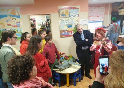Fotografías de la visita al Hospital Materno Infantil de Jerez (2)