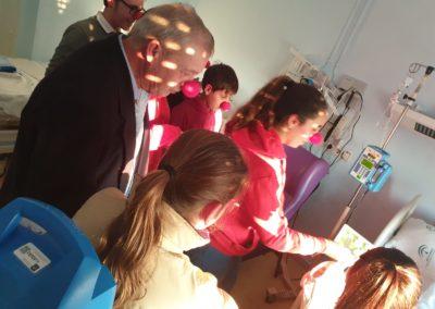 Fotografías de la visita al Hospital Materno Infantil de Jerez (9)