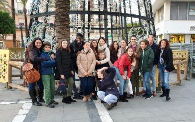 Visita del Grupo Joven e Infantil a los belenes 2020