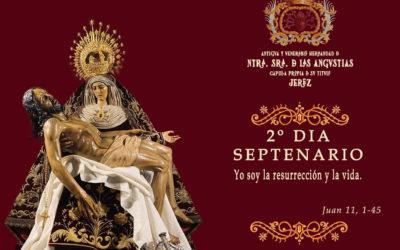 2º Día del Solemne Septenario en honor a Nuestra Señora de las Angustias