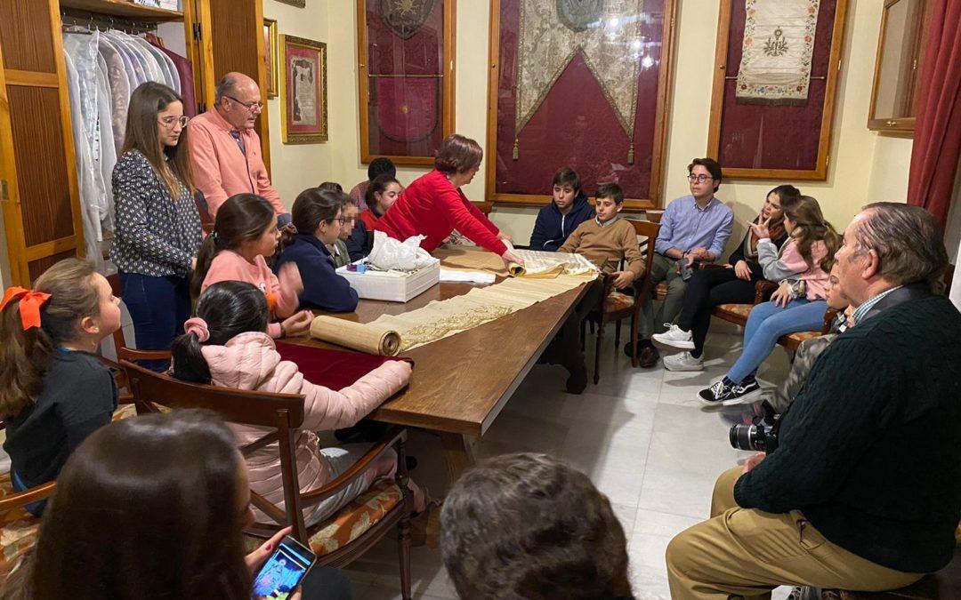 Actividad del Grupo Joven e Infantil con la Diputación de la Santísima Virgen