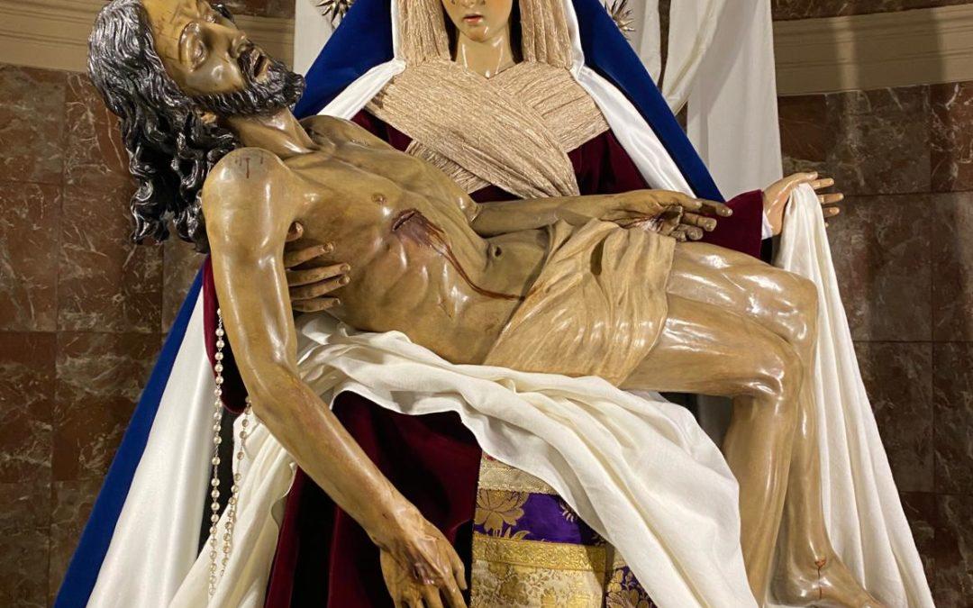Fotografías de Nuestra Señora vestida de hebrea Cuaresma 2020