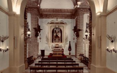 Capilla de Nuestra Señora de las Angustias preparada para su reapertura