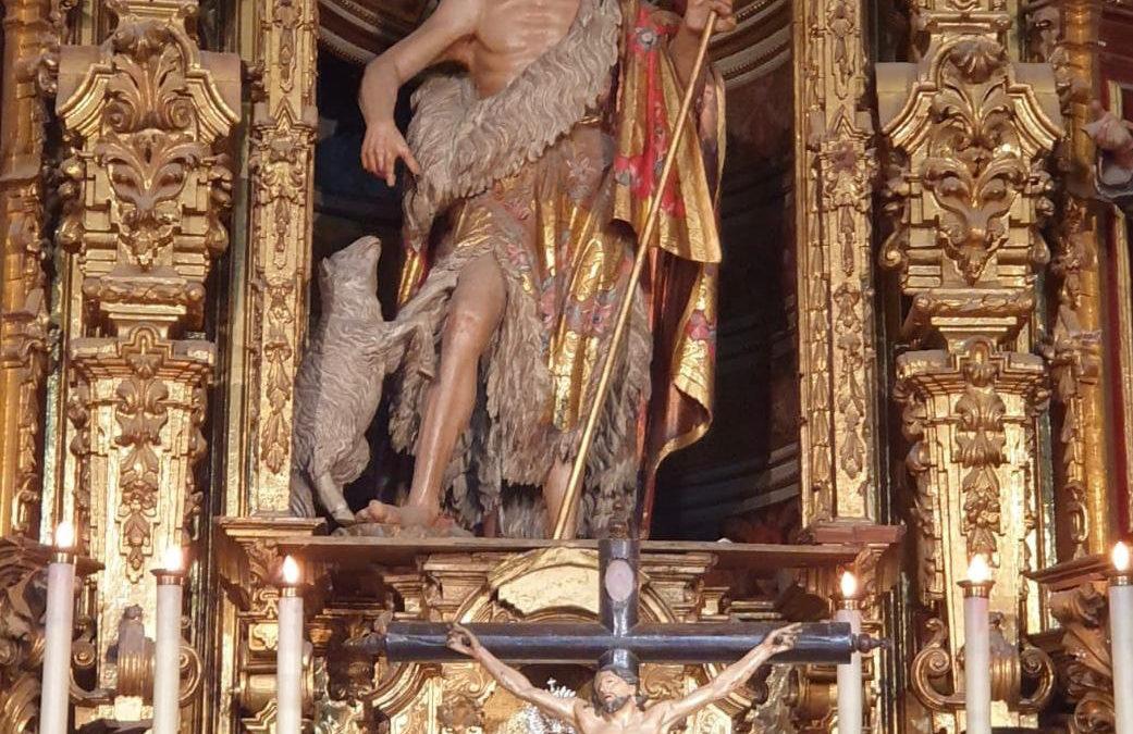 Asistencia a la Eucaristía en honor a la Solemnidad de la Natividad de San Juan Bautista