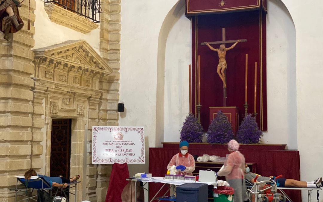 Colecta de Donación de Sangre en la Capilla de Ntra. Sra. de las Angustias Julio 2020