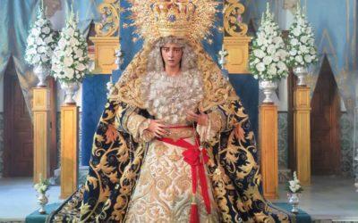 Felicitación a la Hermandad de la Borriquita por la Coronación Canónica de la Virgen de la Estrella