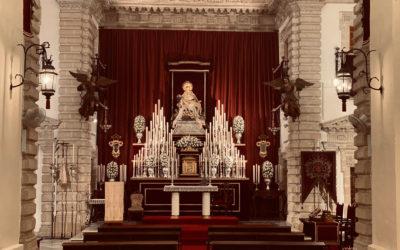 Fotografías del Solemne Triduo en honor a Nuestra Señora de las Angustias 2020