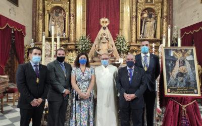 Asistencia al 1º día de la Novena de Nuestra Señora de la Merced Coronada 2020