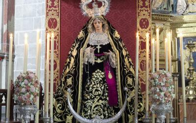 Asistencia al X Aniversario de la Bendición de Angustia de María Madre de la Iglesia