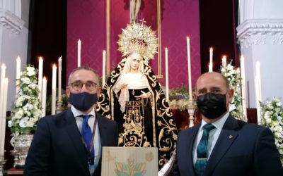 """Asistencia al homenaje de """"Costalero por nuestros Mayores"""""""