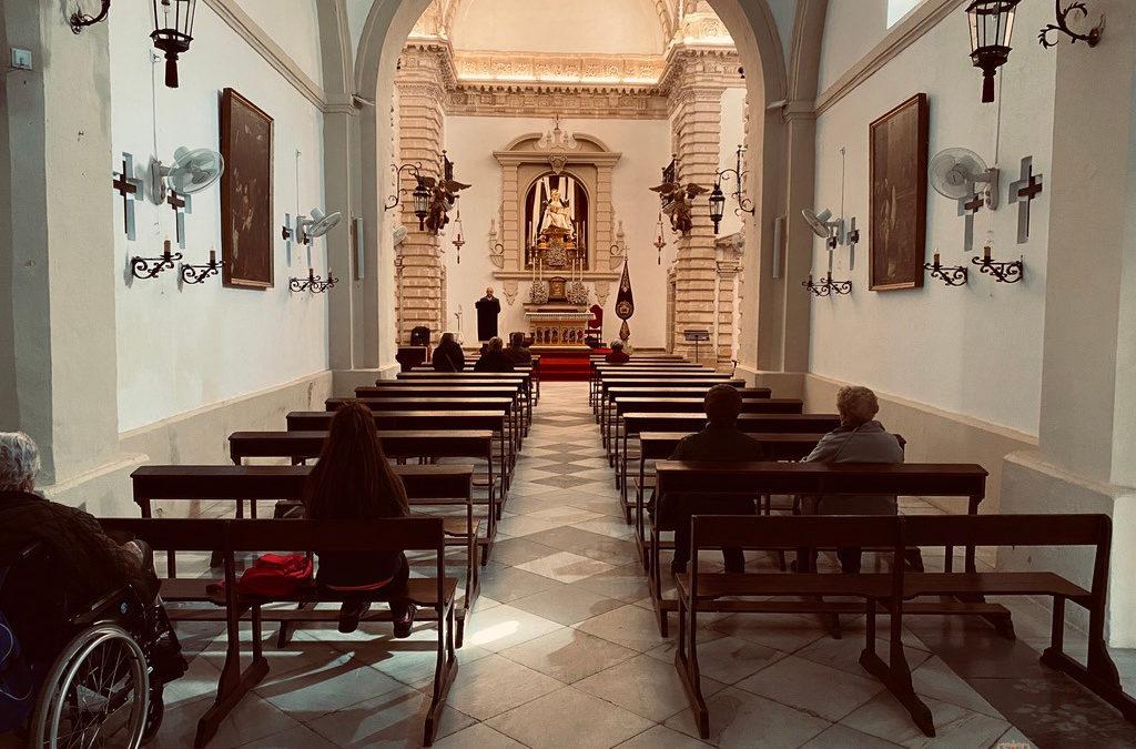 Reapertura Capilla de Nuestra Señora de las Angustias tras periodo estival