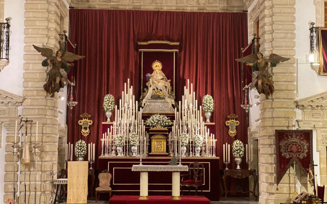 Solemne Triduo en honor a Nuestra Señora de las Angustias con motivo de la Festividad de los Dolores de la Virgen María