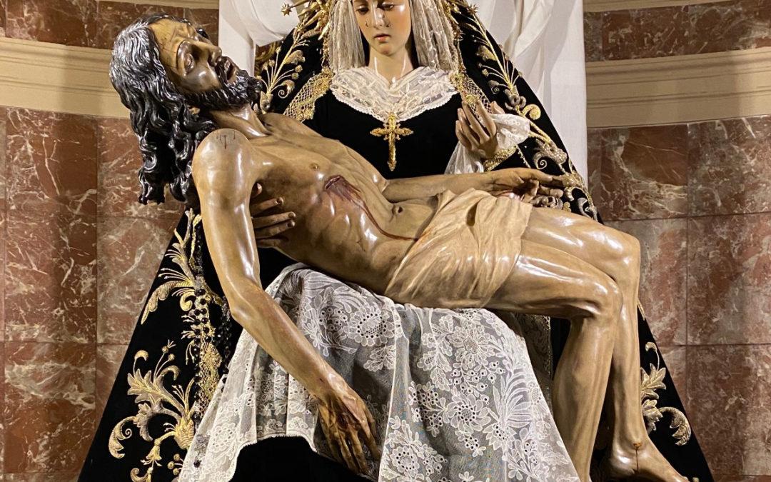 Nuestra Señora de las Angustias para la Conmemoración de los Fieles Difuntos