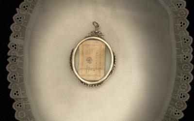 Reliquia de San Juan Grande regalo de nuestro hermano Rvdo. Padre D. Manuel Jesús Barrera Rodríguez Pbro