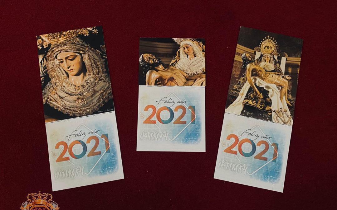 Calendarios de Nuestra Señora de las Angustias para el 2021