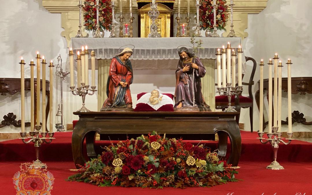 Ganadores del I Concurso de Postales Navideñas de Nuestra Señora de las Angustias