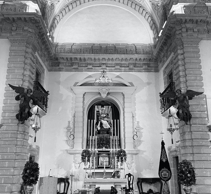 Capilla de Nuestra Señora de las Angustias para la Santa Misa de Año Nuevo 2021
