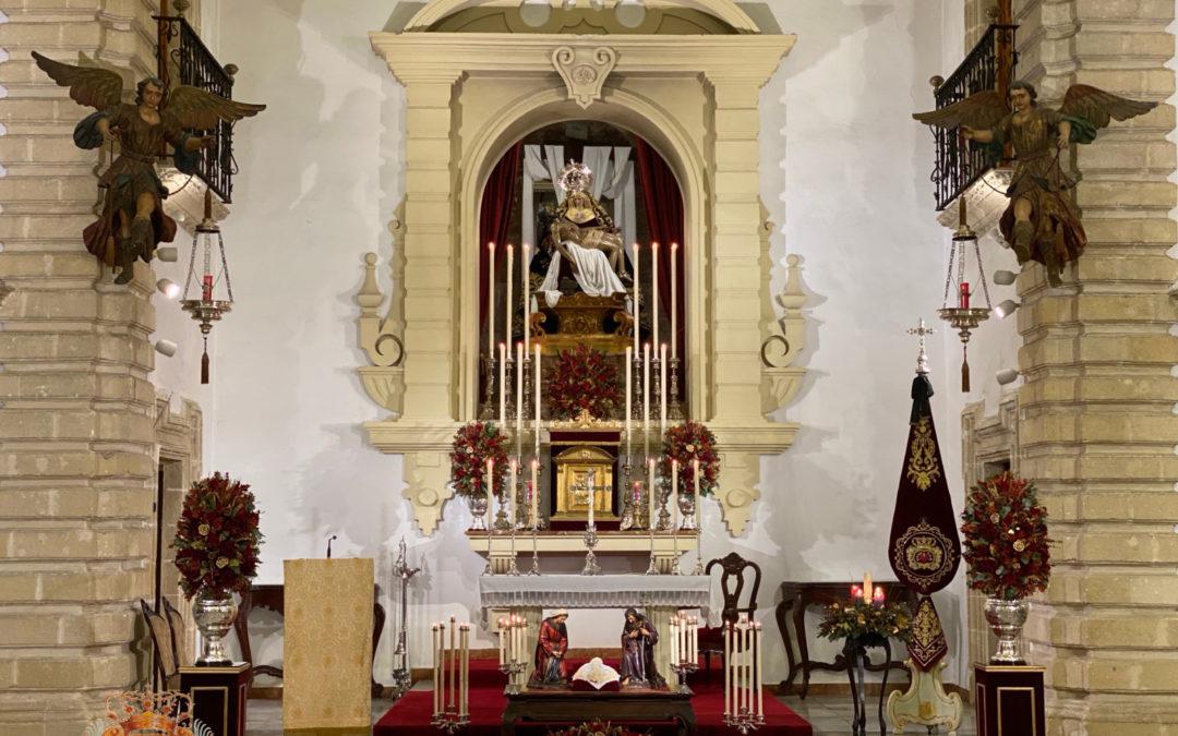 Capilla de Nuestra Señora de las Angustias para la Santa Misa del Gallo 2020