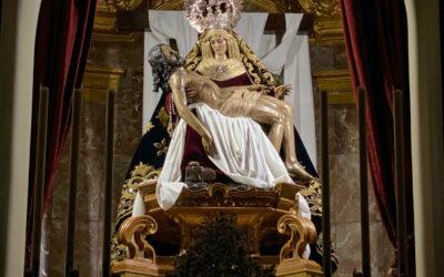 Realizadas obras de pintura en el Camarín de Nuestra Señora