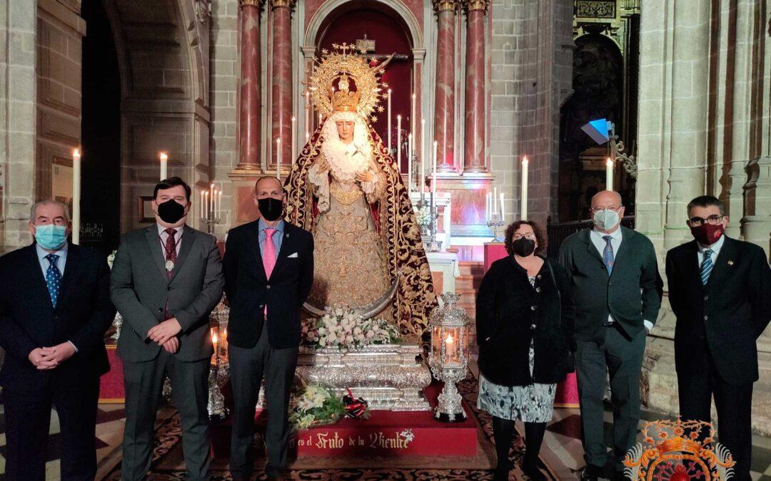 Asistencia a las Solemnes Veneraciones de fieles del V Domingo de Cuaresma 2021