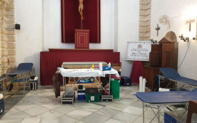 Colecta de donación de sangre en la Capilla de Ntra. Sra. de las Angustias Abril 2021