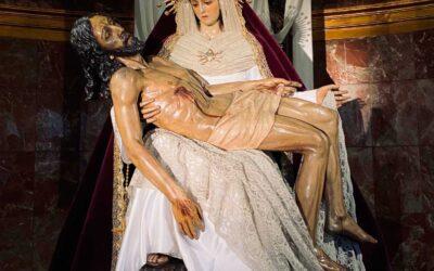 Nuestra Señora de las Angustias para la Pascua de Resurrección