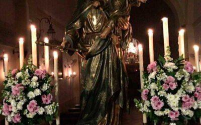 Veneración Extraordinaria a María Auxiliadora en la Capilla de Nuestra Señora de las Angustias