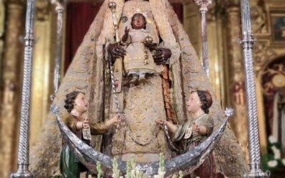 Asistencia a la Novena de Nuestra Señora de la Merced Coronada 2021