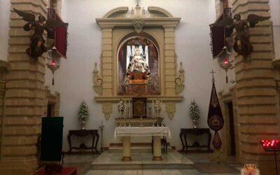 Reapertura Capilla de Nuestra Señora de las Angustias tras periodo estival 2021