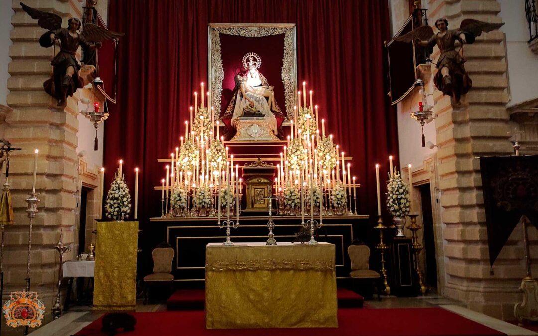 Agradecimientos y fotografías del Solemne Triduo y Rosario de Aurora de Nuestra Señora de las Angustias 2021
