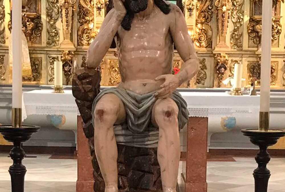 Asistencia a la Solemne Eucaristía de reposición al culto del Santísimo Cristo de la Humildad y Paciencia