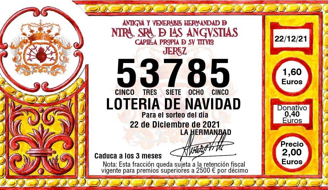 Promoción de la Lotería de Navidad 2021